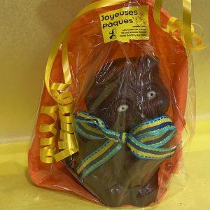 Chat en chocolat
