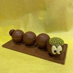 Chenille en Chocolat